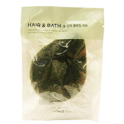 Picture of DAILY BEAUTY TOOLS CHAR COAL PLANT CLEANSING PUFF