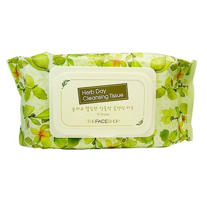 Picture of HERB DAY CLEANSING TISSUE (70)