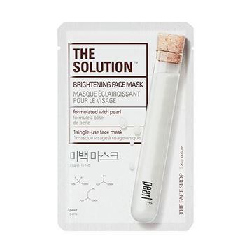 Picture of THE SOLUTION BRIGHTENING FACE MASK