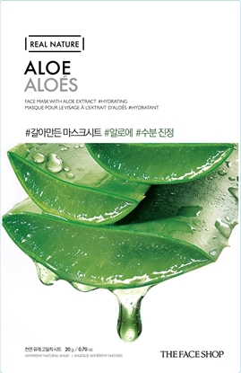 Picture of REAL NATURE MASK SHEET ALOE