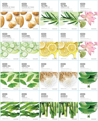 Picture of THE FACE SHOP REAL NATURE MASK SHEETS FOR OILY SKIN (20PCS)