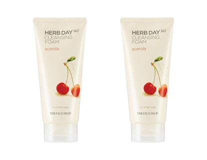 Picture of HERB DAY 365 CLEANSING FOAM ACEROLA LOT (2)
